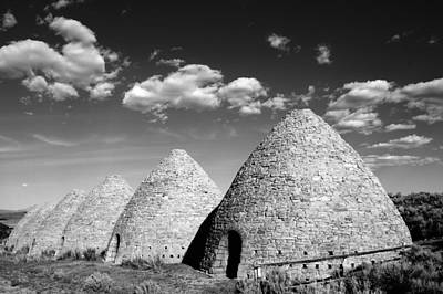 Ward Charcoal Ovens Art Print by Scott McGuire