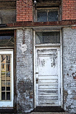 Photograph - Warehouse Door by Cheri Randolph