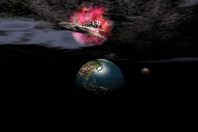 Digital Art - Warning Revelation 19 11 by Claude McCoy