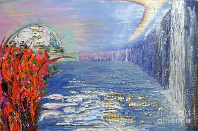 Warratah View Art Print by Matt Gregor