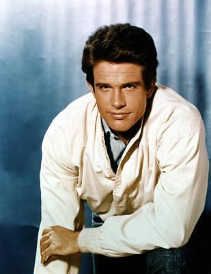 Warren Beatty Photograph - Warren Beatty, 1960s by Everett