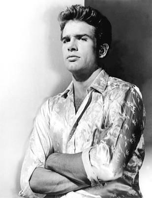 Warren Beatty Photograph - Warren Beatty, 1962 by Everett