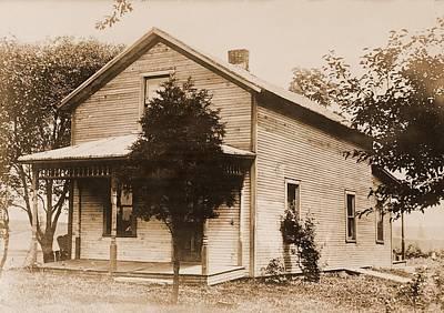 Warren G. Harding 1865-1923, Birthplace Art Print by Everett