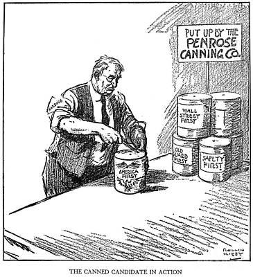 Warren G. Harding, 1920 Art Print by Granger
