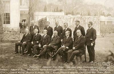Harry James Photograph - Warren Harding Cabinet by Granger