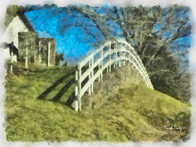 Warwick's Curve Art Print by Trish Tritz