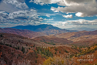 Payson Photograph - Wasatch Range  by Robert Bales