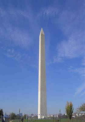 Washington Monument Digital Art - Washington Monument 1 by Lin Grosvenor