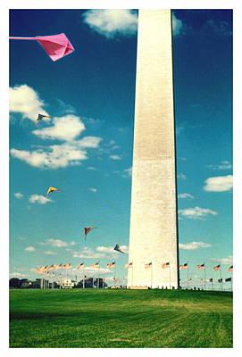 Washington Monument 1982 Art Print by Noah Brooks