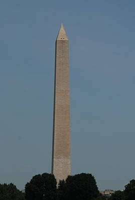 Photograph - Washington Monument 2 by Richard Bryce and Family