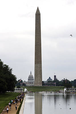 Photograph - Washington Monument by David Lester