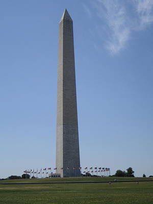 Photograph - Washington Monument by Richard Bryce and Family