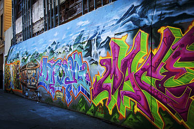 Photograph - Washington Park Graffiti by Anthony Citro