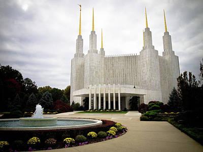 Photograph - Washington Temple by Craig Leaper