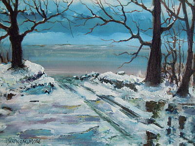 Painting - Washoe Winter by Dan Whittemore
