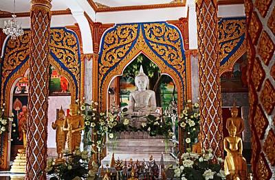 Wat Chalong 4 Art Print by Metro DC Photography