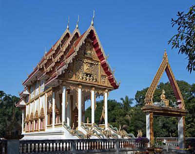 Photograph - Wat Kan Luang Ubosot Dthu179 by Gerry Gantt