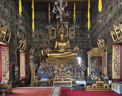 Ethereal - Wat Ratcha Orasaram Ubosot Interior DTHB859 by Gerry Gantt