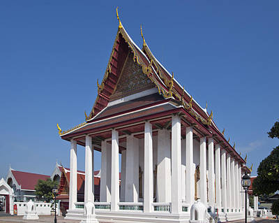 Wat Thewarat Kunchorn Ubosot Dthb1297 Art Print by Gerry Gantt