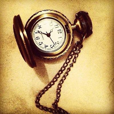 Steampunk Photograph - #watches #gold #bronze #steampunk by Anna Albrecht