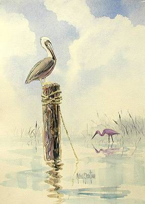 Painting - Watchful Eye by Gary Partin