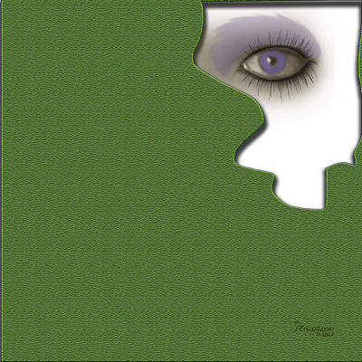 Digital Art - Watching 2 by Ericamaxine Price