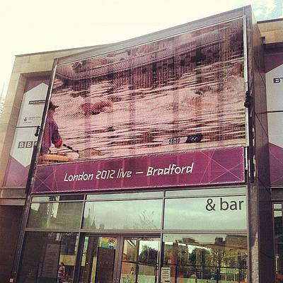 London2012 Photograph - Watching #london2012 In #bradford - Na by Maciej 😂 Liziniewicz