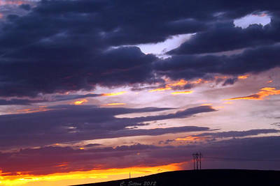 Photograph - Watching Night Fall by C Sitton