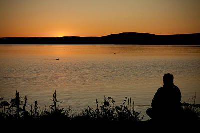 Photograph - Watching The Sunset by Anthony Doudt