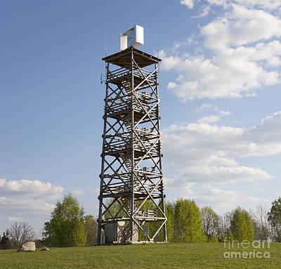 Watchtower In Rõuge, Estonia Art Print