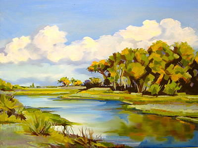 Painting - Water And Sky by Sarah Gayle Carter