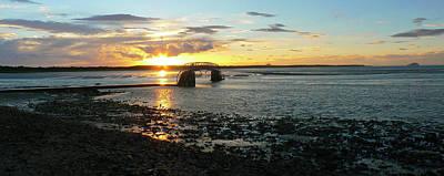 Photograph - Water Around The Bridge by Tom Migot