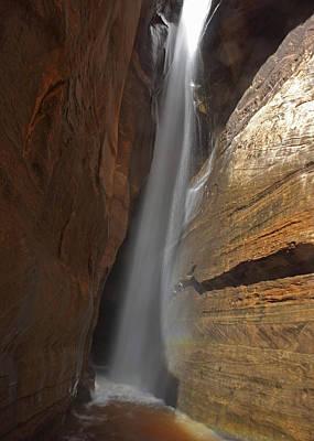 Zion National Park Photograph - Water Canyon by Susan Rovira