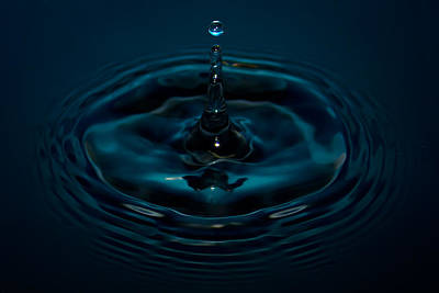 Photograph - Water Drop No.11 by Nadya Ost