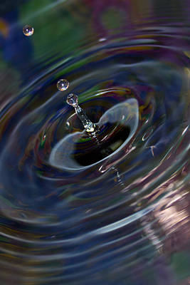 Photograph - Water Drop No.15 by Nadya Ost