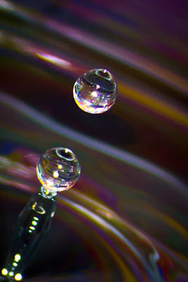 Photograph - Water Drop No.17 by Nadya Ost