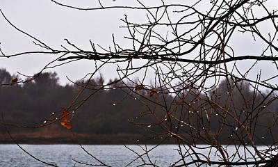 Photograph - Water Drops Keep Falling by Edward Peterson