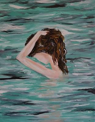 Painting - Water Envy by Leslie Allen