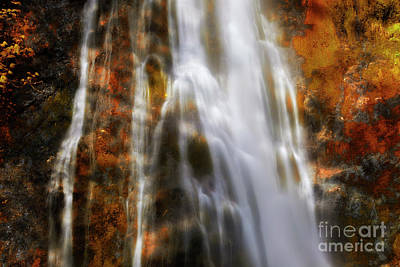 Manipulation Photograph - Water Flow by Keith Kapple
