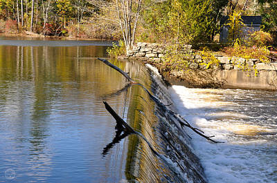 Photograph - Water Over The Dam by Healing Woman