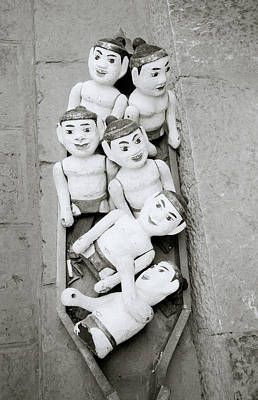 Classical Doll Photograph - Water Puppets In Hanoi by Shaun Higson