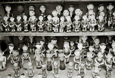 Classical Doll Photograph - Water Puppets by Shaun Higson