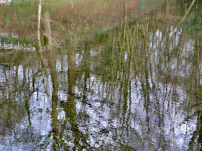 Photograph - Water Reflections One by Debra Collins