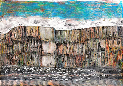 Natural Resources Painting - Approach To Glacier Bay Alaska by Al Goldfarb