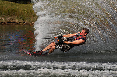 Wakeboard Photograph - Water Skiing 18 by Vivian Christopher