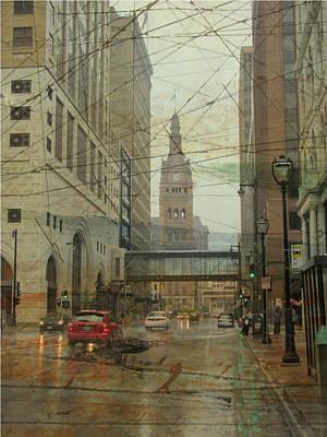 Digital Art - Water Street And Artboard by Anita Burgermeister