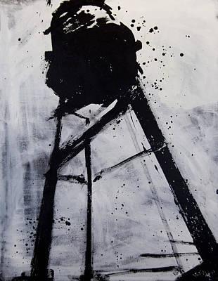 Water Tower 02 Art Print