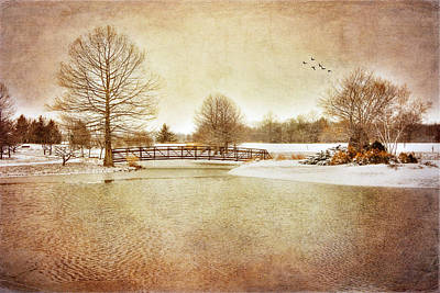 Art Print featuring the photograph Water Under The Bridge by Mary Timman