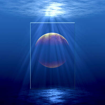 Digital Art - Water World by Gordon Engebretson