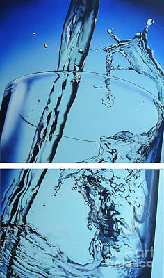 Water2heal Art Print by Rob Courtenay